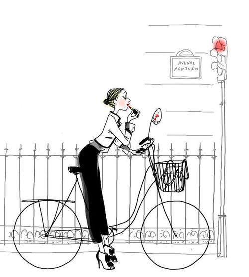 Parisienne life jour nuit - Dessin parisienne ...